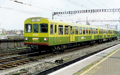 8323 at Dublin Connolly on 10th May 1999