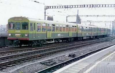 8330 at Dublin Connolly on 23rd September 1998