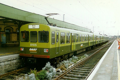 8105 at Howth on 3rd February 1997