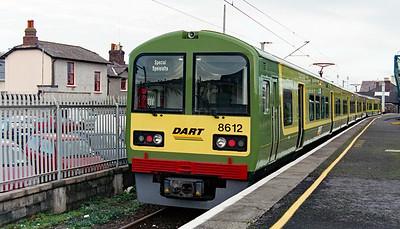8612 at Bray on 4th November 2002