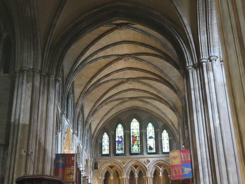 Inside St. Patrick's Cathedral- Dublin