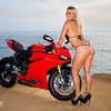 Irene and the Ducati
