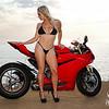 Irene and the Ducati