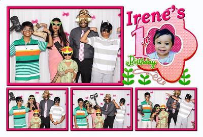 Irene's 1st Birthday