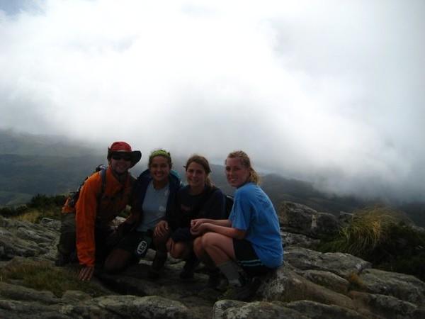 Top of a peak in Akaroa-NZ