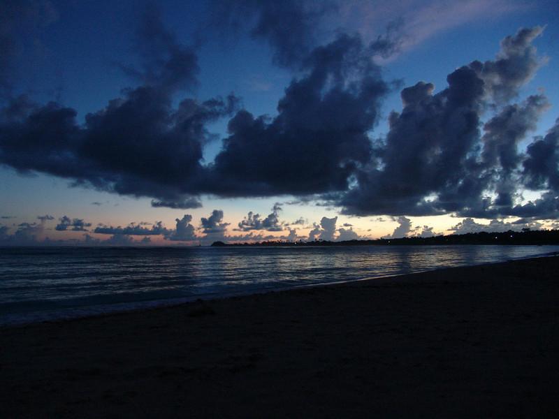 Sunrise on my last day on the island of Savaii. Nov. 2008