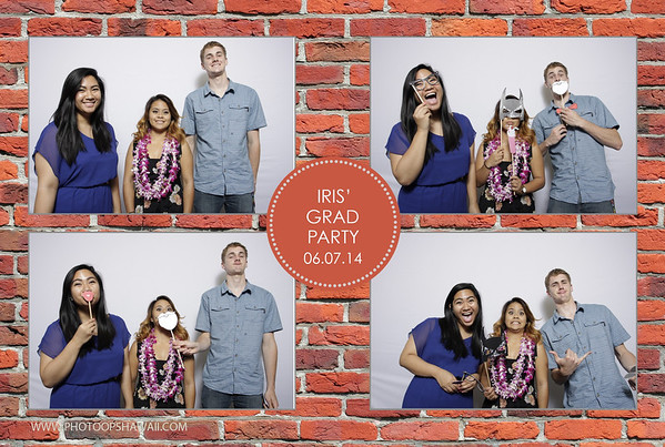 Iris' Graduation Party (Fusion Portraits)