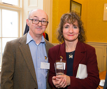 18/05/2016. Irish Accounting & Finance Accociation Annual Conference at WIT (Waterford Institute of Technology). Pictured at The Mayor's reception are Peter Deeney and Ann Marie Ward. Picture: Patrick Browne