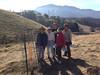 Team poses at Site 2: Dana, Kristen, Jim, Paula, Giselle.  Missing: Kona and David.