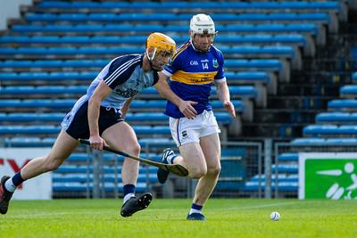 Kiladangan's Paul Flynn in action against Nenagh Eire Og's Barry Heffernan