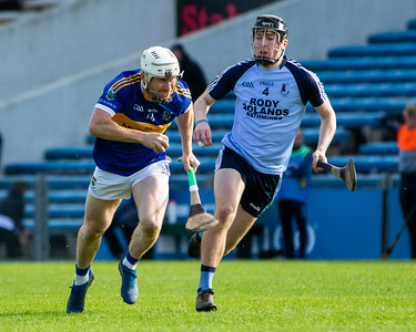 Kiladangan's Paul Flynn in action against Nenagh Eire Og's Conor McCarthy