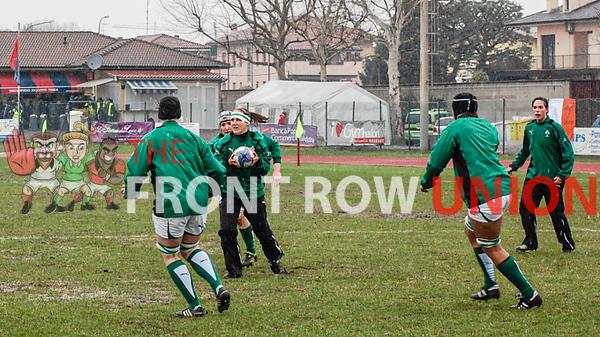 Italy 3 Ireland 6, Womens Six Nations, Sunday 17th March 2013