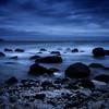 Boulders in Blue