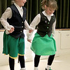 Irish Dancers from Irish American Step Dancers from Leominster performed at the Pilgrim Congregational Church's St. Patrick's Day corned beef and cabbage supper. Delaney Moran, 6, of AShburnham and Olivia Geenwood, 7, of Leominster showed of their Irish dancing skills during their show. SENTINEL & ENTERPRISE/JOHN LOVE