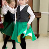 Irish Dancers from Irish American Step Dancers from Leominster performed at the Pilgrim Congregational Church's St. Patrick's Day corned beef and cabbage supper. Dancing during their show is Josie Goodgion. SENTINEL & ENTERPRISE/JOHN LOVE