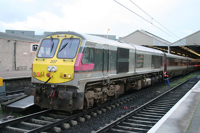 207 ties on to an Enterprise set at Connolly
