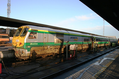 221 and a matching new set at Heuston