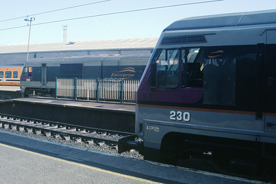 209 and 230 at Dublin Connolly