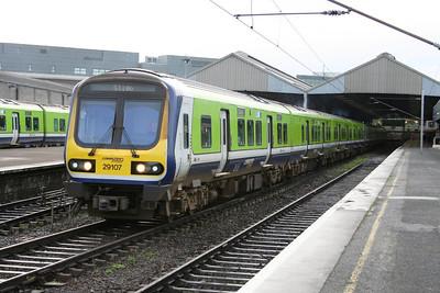 29107 departs Connolly for Sligo.