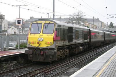 207 brings up the rear at Malahide