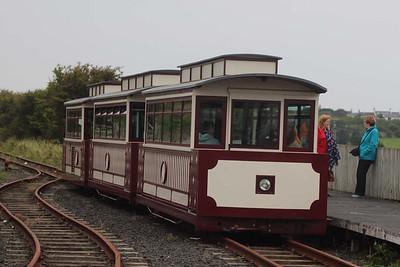 Tram at Bushmills on 14.09.14.