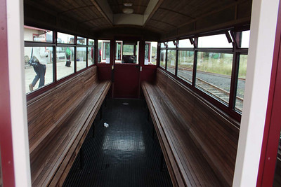 Tram interior at the Giants Causeway on 14.09.14.