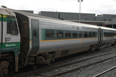 9208 - Standard - at Connolly on 11.09.11 on Dublin - Belfast service.