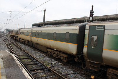 7608 on 23.03.13 arriving at Connolly on Belfast - Dublin service.