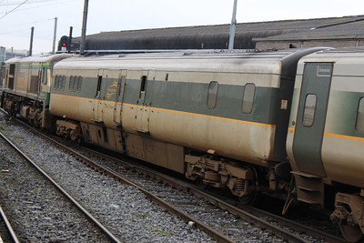 7605 on 23.03.13 arriving at Connolly on Belfast - Dublin service.