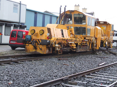 703 - Plasser & Theurer USB4000 Regulator at Kildare on 17.11.07.