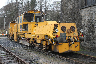 704 - Plasser & Theurer USB4000 Regulator at Carrick-on-Suir on 05.02.11.