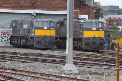 078 & 080 at Connolly on 28.08.16.