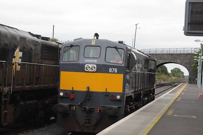 076 replacing 074 at Kildare on 01.09.16 on 11.15 Basllina - Waterford Liner.