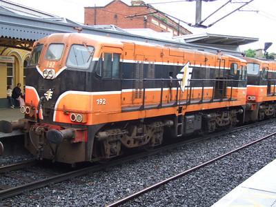 192 (+ 181) at Connolly on Railtour.