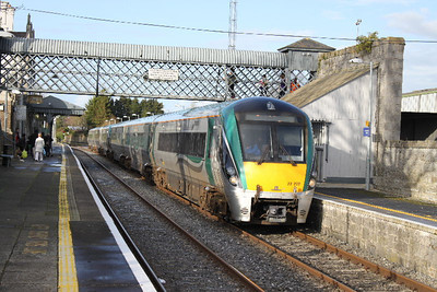 22222 (+ set 12) on 03.03.12 at Carlow on 15.10 Dublin - Waterford service.
