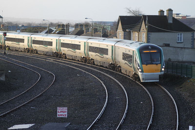 22134 at Carlow on 03.03.12 on 07.10 Waterford - Dublin service.