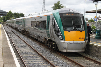 22136 at Carlow on 14.07.12 on 11.10 Dublin - Waterford service.