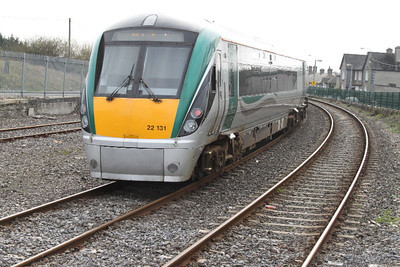 22131 leaving Carlow on 24.03.12 on 11.10 Dublin - Waterford service.