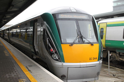 22244 - at Heuston on 25.06.11 after Waterford - Dublin service.