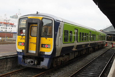 2610 (+ 2613) on 14.01.12 at Cork out of service.