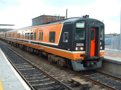 2806 -  At Sallins on 15.06.05 on 18.03 Newbridge to Dublin.