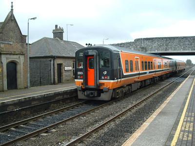 2804 on 28.12.04 at Sallins  / Naas on Dublin - Kildare service.