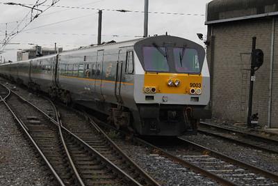 9003 - on 17.07.10 at Connolly on Belfast - Dublin Service.