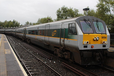9004 at Belfast Central on 07.09.13 after 07.35 Dublin - Belfast srvice.
