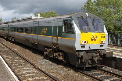 9001 - on 14.05.11 at Belfast Central awaiting 16.10 Belfast - Duvblin  service.