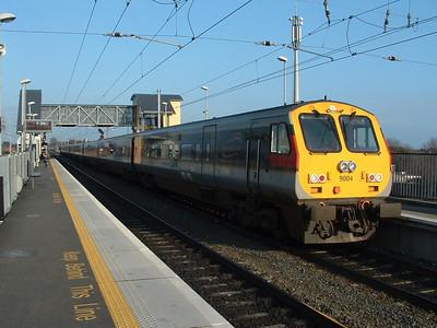 9004 at Clontarf Road on 01.02.06 on Belfast - Dublin service.