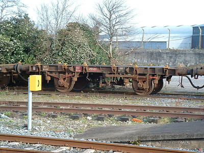 25511  -  4 Wheel Flat Wagon  -  at Kilkenny on 10.02.05..