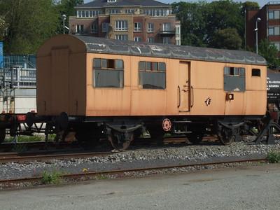 4 Wheel Permanant Way Wagon in Heuston Yard. on 31.05.2008.