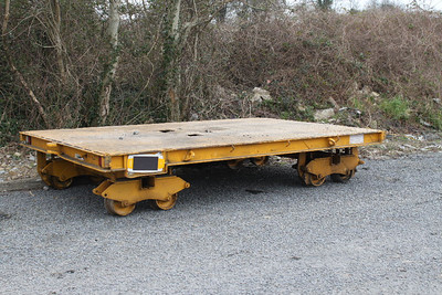 Bogie Permamant Way Wagon at Carrick-on-Suir on 26.02.13.