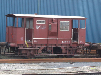 23663  - Brake Van - at Limerick on 14.10.06.